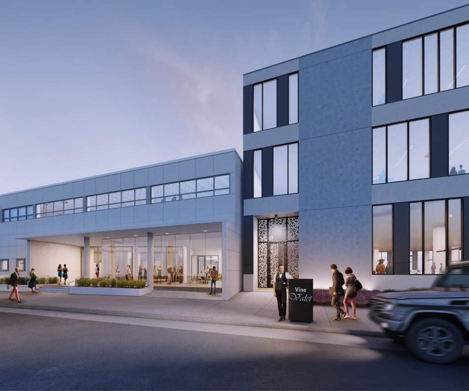 Construction Continues At New Hollywood Office Campus